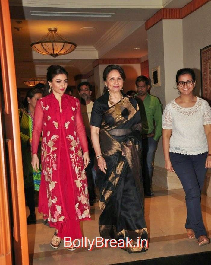 Soha Ali Khan, Sharmila Tagore, Soha Ali Khan, Tisca Chopra Hot Pics at Clinic Plus Charity