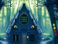 8bGames Forest Hut Escape…