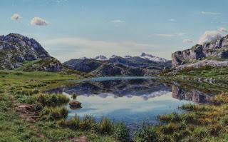 cuadros-montañas-y-ríos-pinturas-sorprendentes-oleo