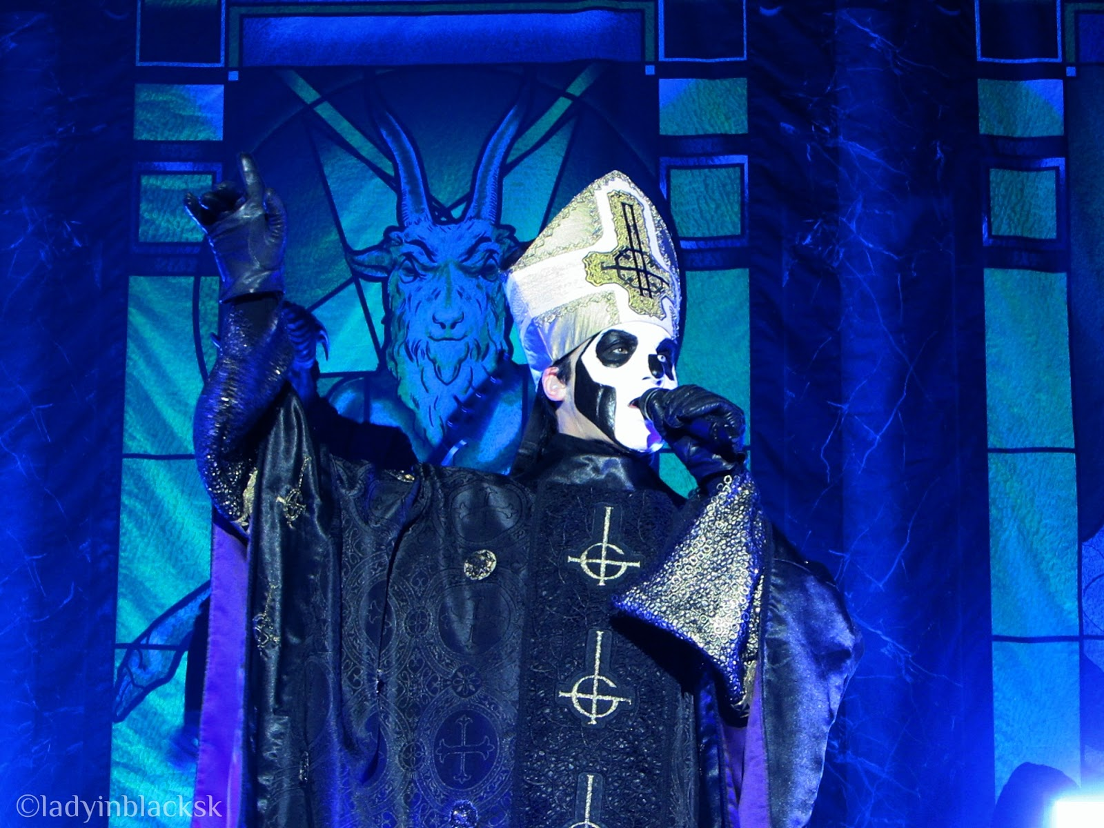 ghost papa emeritus popestar nameless ghouls live