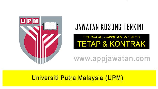 Jawatan Kosong diUniversiti Putra Malaysia (UPM)
