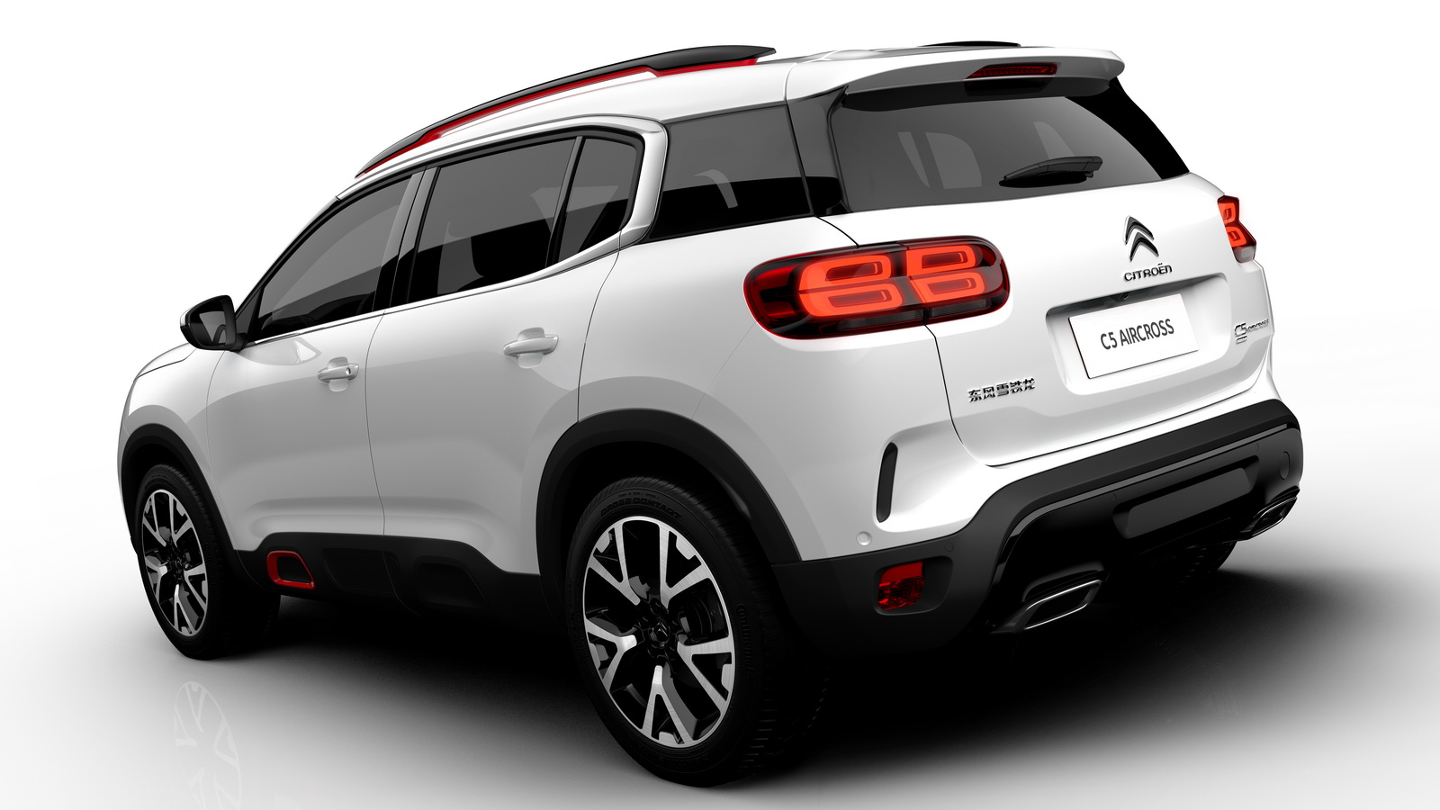 2018 citroen c5 aircross officially revealed gets. Black Bedroom Furniture Sets. Home Design Ideas