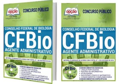 Apostila CFBio 2018 - Agente Administrativo