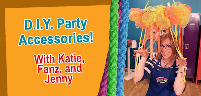 Visit Hands On Crafts for Kids for party accessorie ideas!