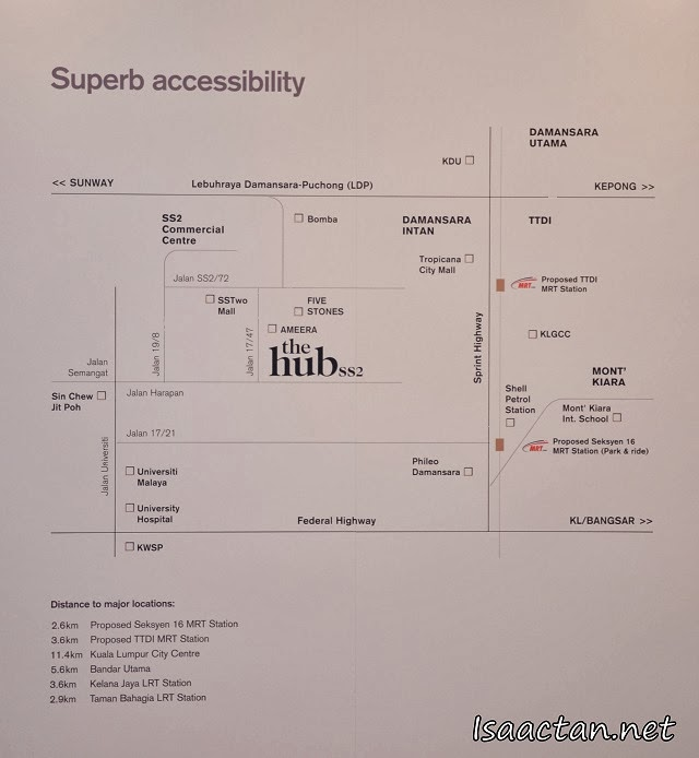 Accessibility options to The Hub SS2