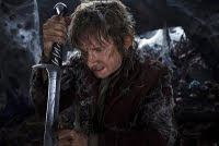 The Hobbit 3 Movie starring Martin Freeman as Bilbo Baggins.
