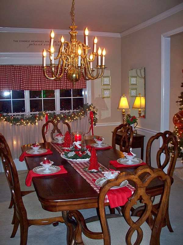 Carol S Heirloom Collection Christmas Bling In The Dining