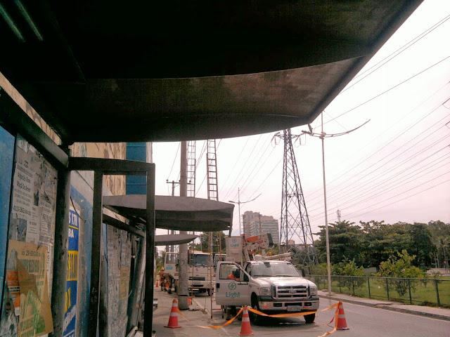 Resultado de imagem para imagens de pontos de ônibus blog do jayme lima