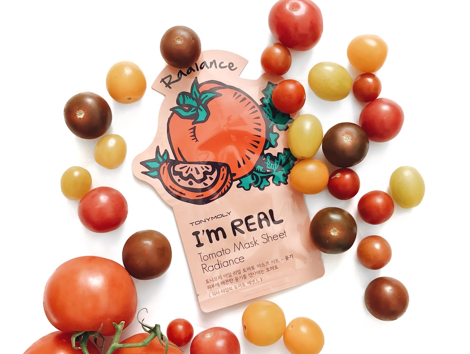 Tony Moly It's Real Tomato Radiance Sheet Mask reviewed by The Jen Project