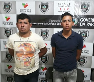 Dupla é presa após praticarem assaltos em Nova Palmeira