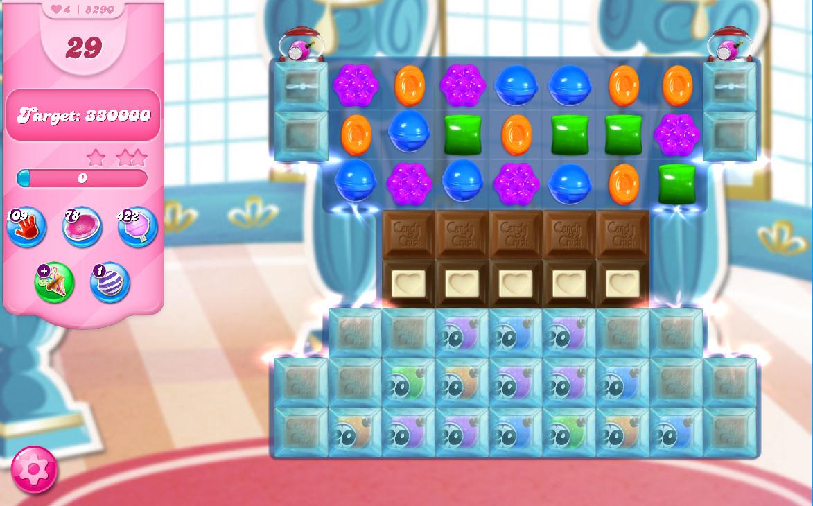 Candy Crush Saga level 5290