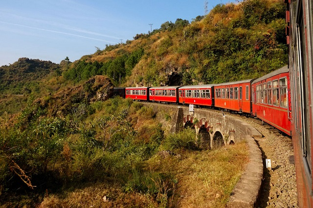 Kalka-Shimla train