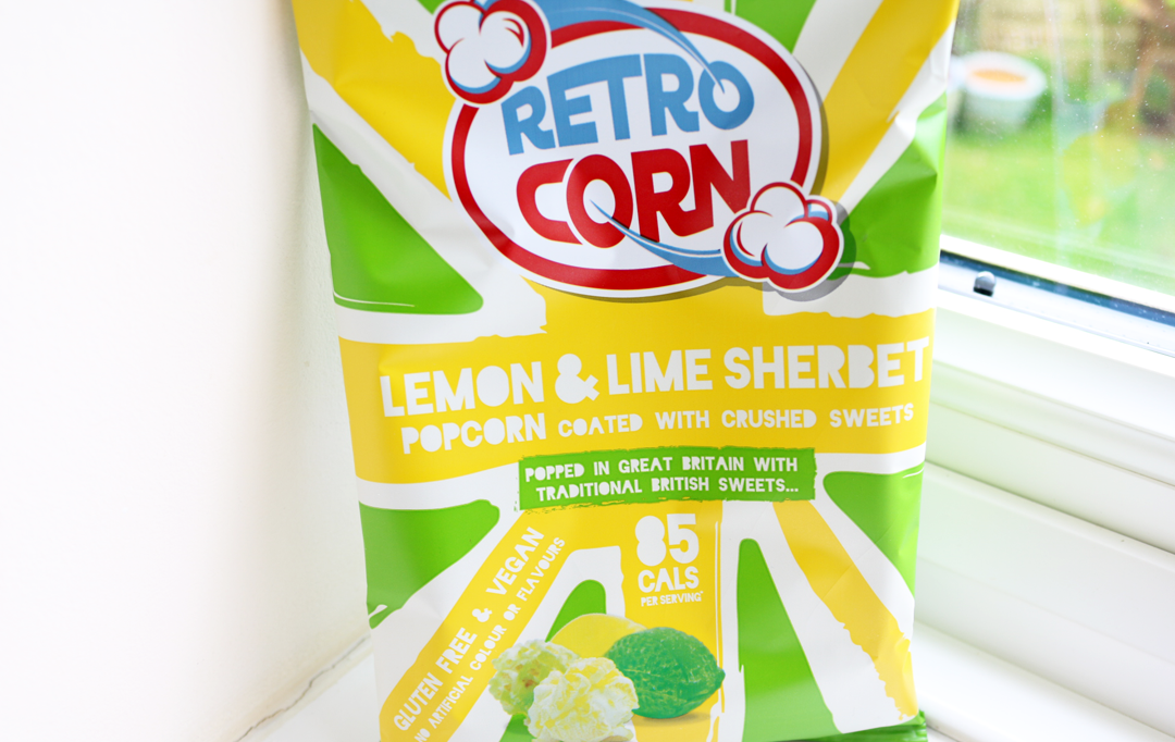 Retro Corn Lemon & Lime Sherbert Popcorn
