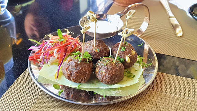 Crispy Lamb Kola Urundai at Magan, Kuwait