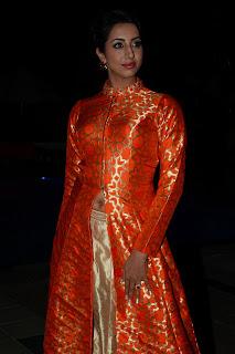 sanjana at Wedding vows fashion show