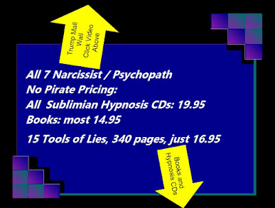 no pirates here: subliminal hypnosis cds best price 19.95 recovery and donald trump books 14.95