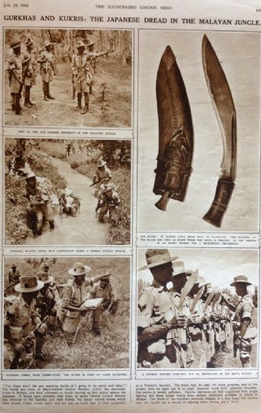 Old News Paper cuttings of Gorkha Rifles