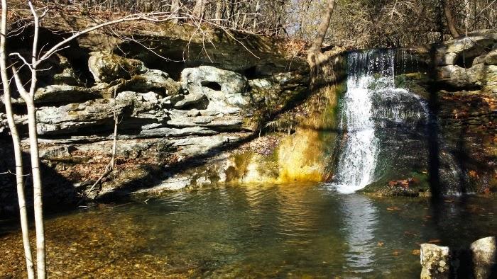 Reynolds Falls on Tea Kettle Falls Trail