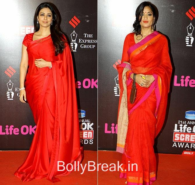 Tabu, Sandhya Mridul, Life Ok Screen awards 2015 Red Carpet Hot Pics