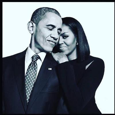 Michelle and Barack, Obama