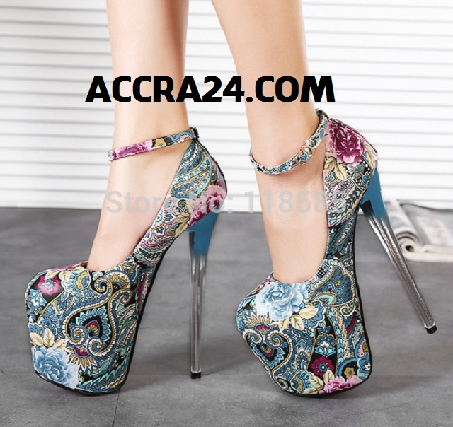 20cm high heels leather pumps
