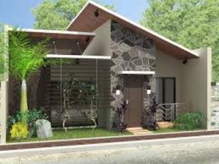 rumah idaman sederhana di desa keren terbaru