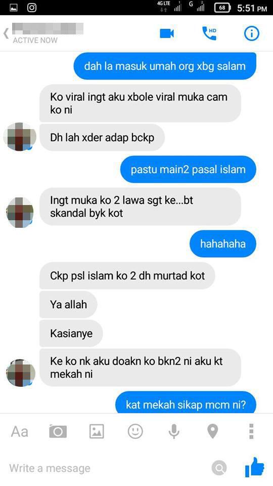 Nak tanya, Bila Tunang Saya Request Friend Kat Awak?' - Lelaki Gatal Kantoi Di FB   UTUSANMMALAYSIA