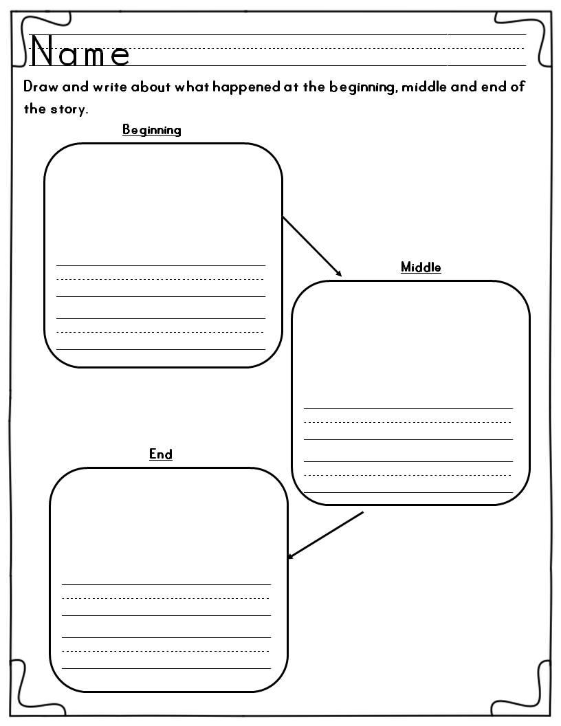 Beginning Middle End Worksheets Versaldobip – Beginning Middle End Worksheet Kindergarten