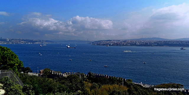 Estreito de Bósforo, Istambul