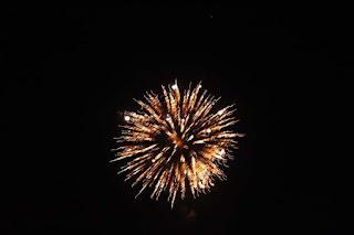 Fuochi d'artificio in onore di Sant'Eustachio a Campo di Giove (2016)