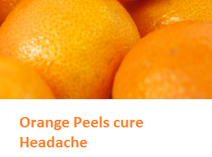 Orange Peels cure Headache - Oranges citrus fruit peel (Santre Ke Chilke)