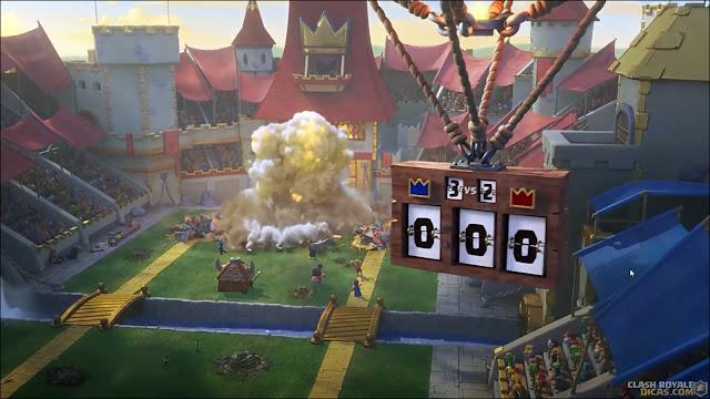 Comercial Clash Royale Arena