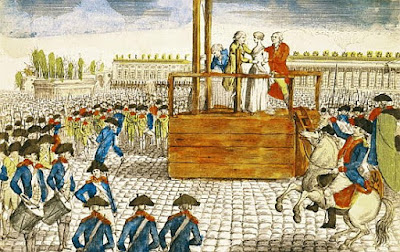 Execution of Queen Marie Antoinette