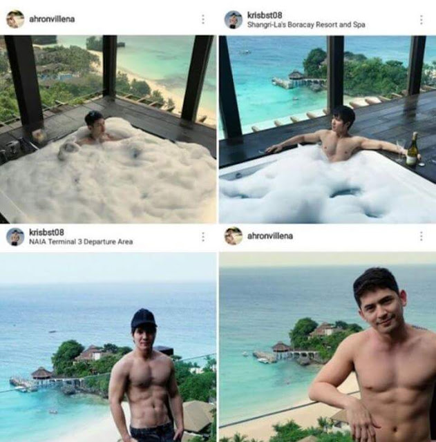 CONTROVERSIAL: Ahron Villena's Rumored Hunky Travel Buddy Revealed?
