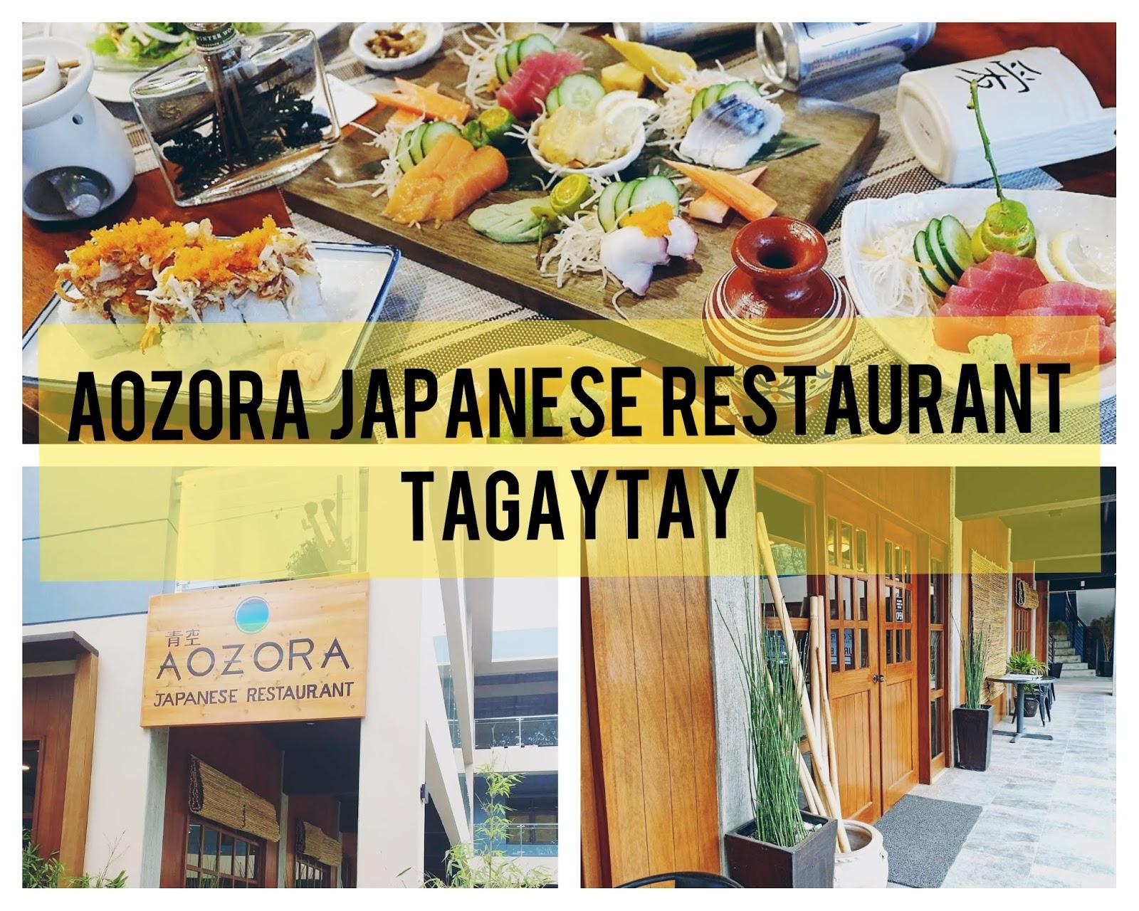 Aozora restaurant