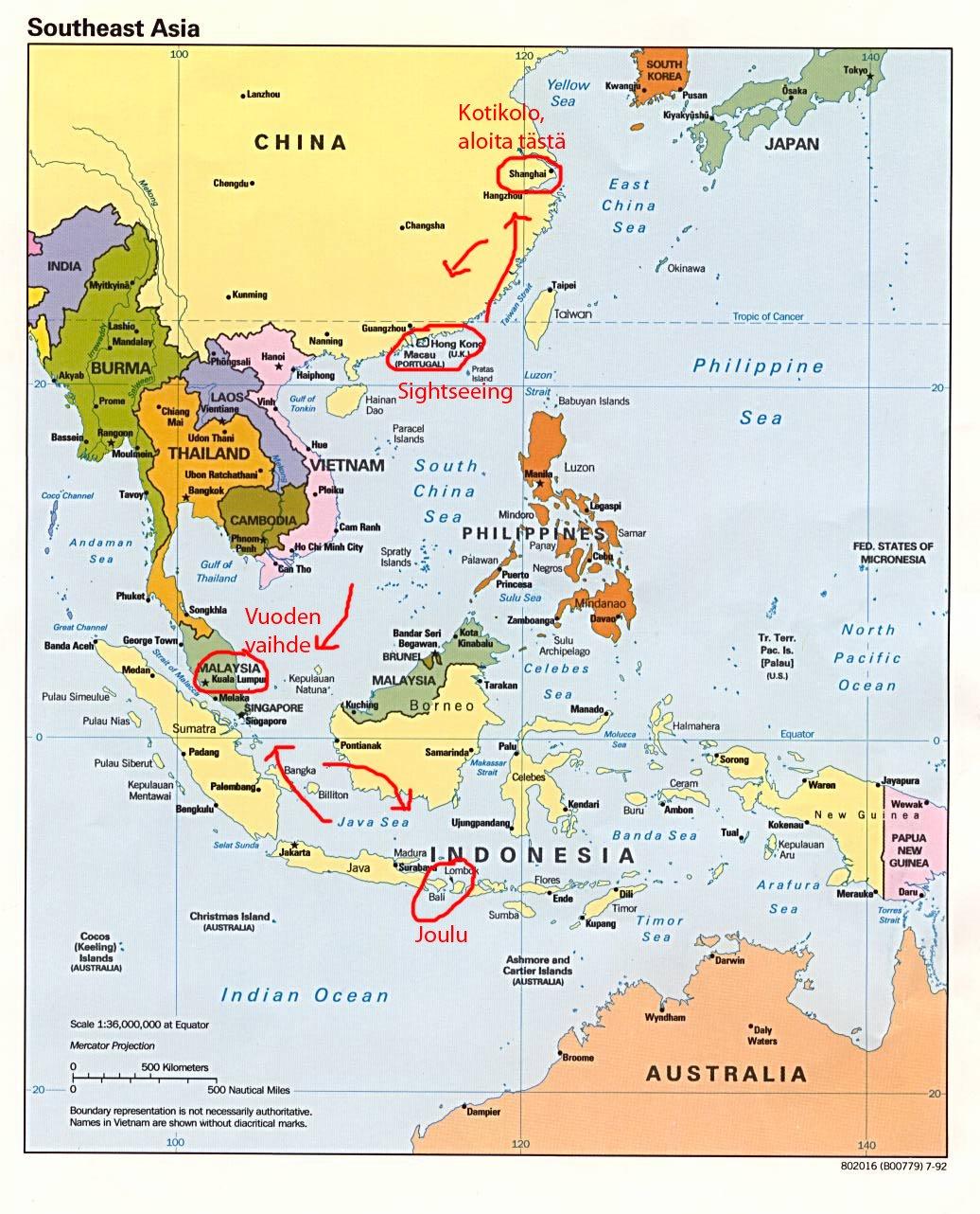 Kaakkois-Aasia