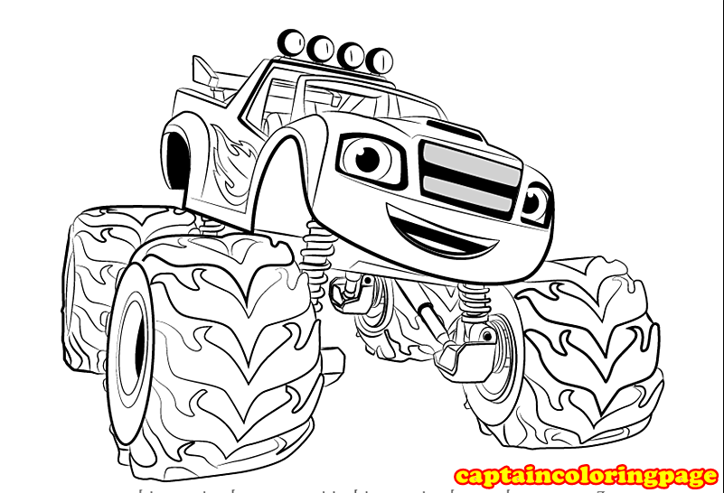 30+ Creative Photo of Monster Truck Coloring Pages . Monster Truck ... | 546x801