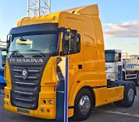 Yeni yerli kamyon; Pi çekici 18-440