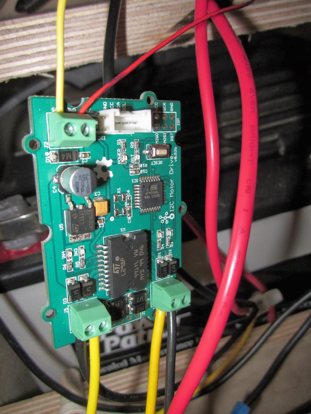 Using The Grove L298 Dual H Bridge I2c Motor Driver With Arduino Circuit Diagram