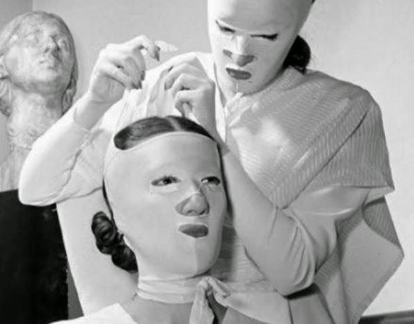 Tratamentos de beleza do século passado