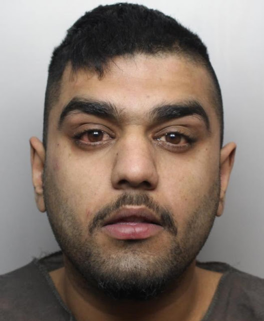 Basit Hussain, of Sherwood Place, Undercliffe, tried to hide evidence of robbery