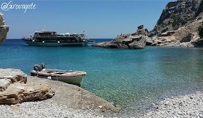 spiaggia palatia saria karpathos