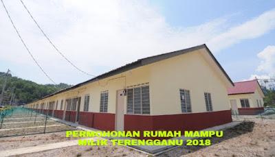 Permohonan Rumah Mampu Milik Terengganu 2018 Online
