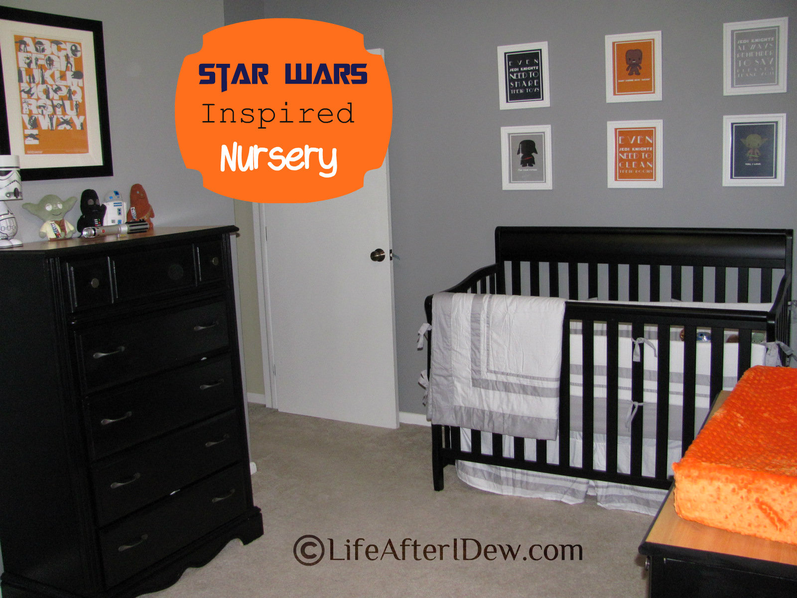 Star Wars Inspired Nursery Reveal