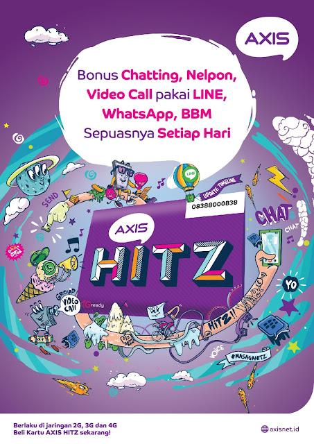 Cara Chattingan Dengan Axis Hitz