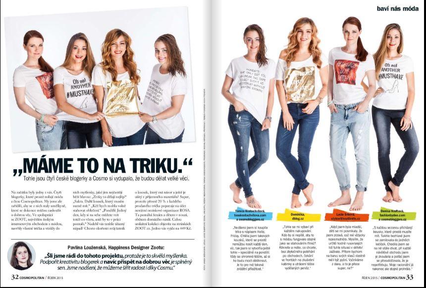 nejlepší české blogerky, internetový obchod zoot