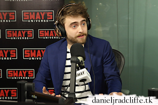Updated(2): Daniel Radcliffe on SiriusXM's Sway in the Morning