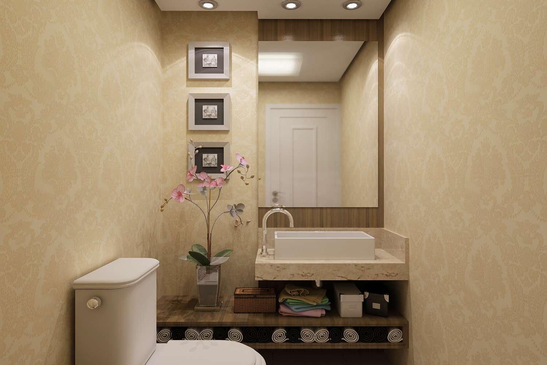 Construindo minha casa clean lavabos decorados veja 30 for Fotos lavabos