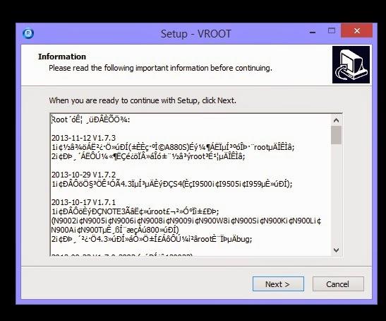 Vroot Download English