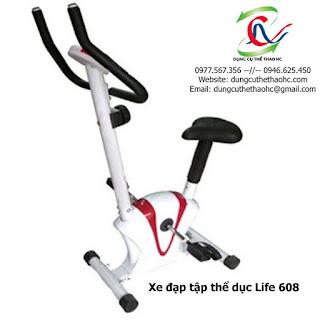 xe đạp tập cố định LIFE 608 giá rẻ